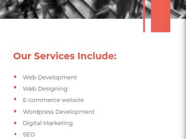 hello, sir/mam i m a web designer and developer and i have my own company which do these type of work. You can check out our website at  https://netsnappy.com Sir we are professionals and don't let you down for sure Thank you