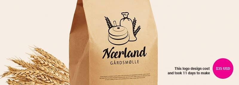 small business logos Nærland gårdsmølle