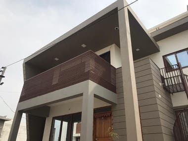 am an Indian architect  capable of doing all kind of designs in architecture and interior both, rendered pics and detailed drawings. i  ha a crew of 3 architects, so i can finish it in little time.