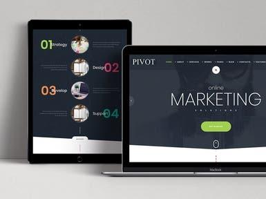 Website Design for a Design Agency