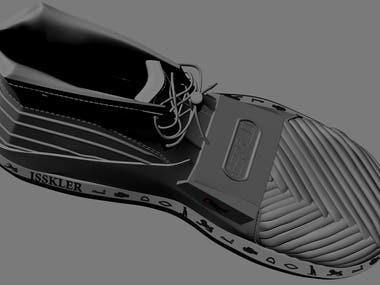 Shoe 3D Design