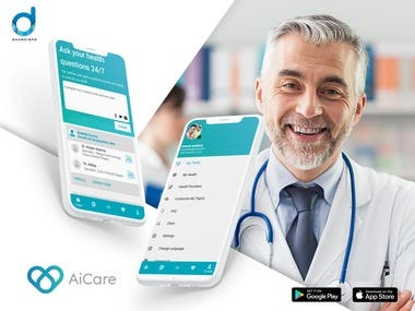 Easy way to consult with doctor with video , audio and real time chat system   Technology used : Flutter Front end admin: Angualr js  Backend : Node js , Mongodb  Server : microsoft azure Video Calling Tool : Agora , Webrtc  Tools : Firebase , One signal