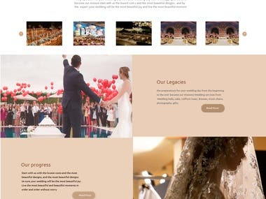 The preparation for your wedding day from your wedding day from the begging to the end become our mission start with us the lowest cost s and the most beautiful designs , and by the  expert ,your wedding will be the most beautiful joy and live the most beautiful moment