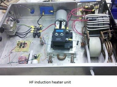 infra communication module & Transistor test module & Audio HF induction heater unit & HF induction heater unit
