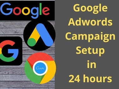 I'm a Google Ads PPC Expert & I will set up your Campaign from scratch  I am a full-time Digital Marketer and google certified marketer with more than 2 years of experience in the field. I will be setting up a Google Ads campaign in just 24 hours and then will be optimizing all the campaigns on a weekly or monthly basis.You can even hire me for monthly ads managements.