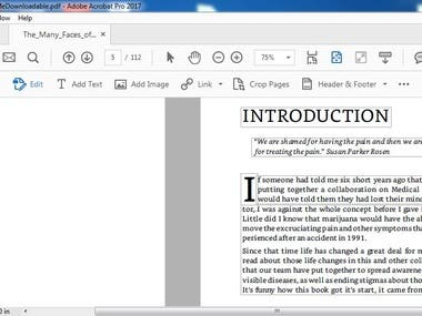 OCR, PDF Editing, PDF to any Format