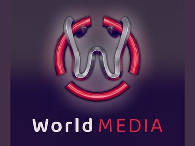 3D Logo Design - Different examples World Media West Digital Wendy's STORES Wear:FIELD