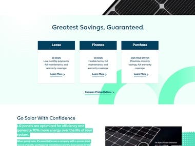 Now no. 1 supplier of solar panels in New York.
