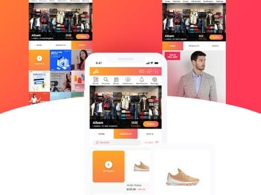 This is an eCommerce marketplace that utilizes retail stores with tech savvy fashion youth to create a social shopping environment. Users through our platform can purchase products through influencers, shop profiles, map, marketplace and have the ultimate shopping experience.