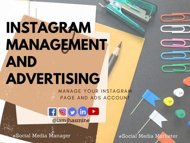 These are sample of my works. I created ads post for Facebook, Instagram and Twitter.
