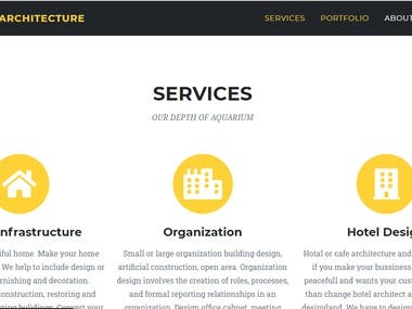 Services section of this website.