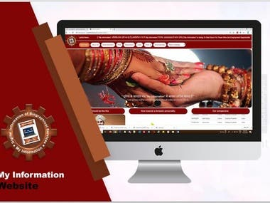 my information is a website for the youngster for a suitable match.
