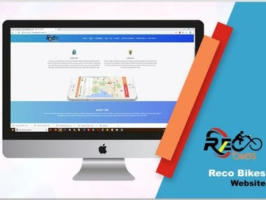 This is the website of reco bikes.