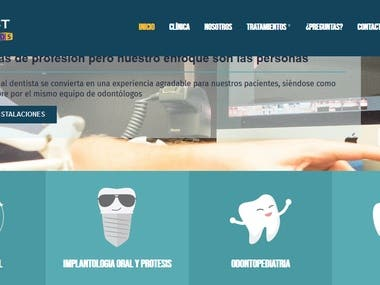 Translation of the website https://mydentistkids.es/ from English to Spanish.   Traducción de la página web https://mydentistkids.es/ del inglés al español.