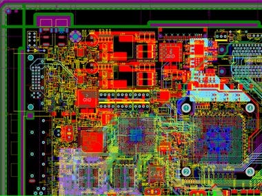 THis is mainboard schematics and pcb design.