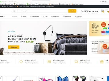 My client was looking for some who can develop his WooCommerce webstore for drop-shipping.