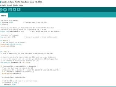 I will do Arduino programming ,its circuitry and hardware