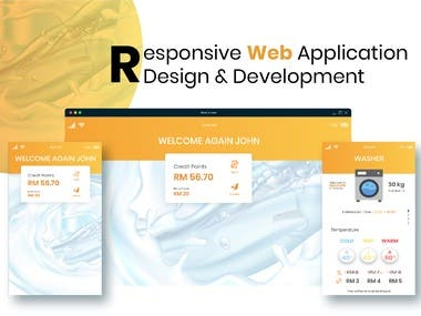 we are providing a complete web application service from designing to development.