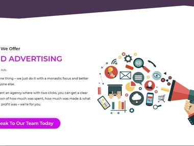 This is a digital marketing agency website run by a relentlessly talented group of marketing experts. website link https://digicenmedia.com