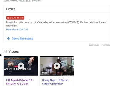I Rank videos on Google Search results and Youtube, Video SEO Help Drive Traffic To Your Money site.