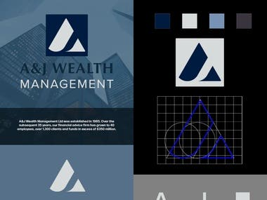 A logo for a wealth management company.