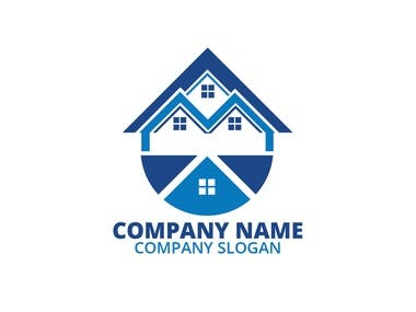 This is real estate logo. Please hire me I will provie you best from me...