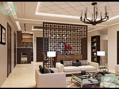 Visit reference links: 1. www.behance.net/MANSIANAND, 2. facebook.com/laelitecreation
