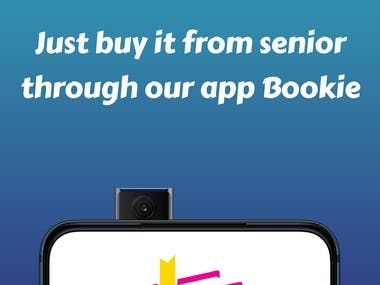 Link- https://play.google.com/store/apps/details?id=com.androginex.bookie  Worried about where to buy books for exams at lower price!!!  Just buy it from seniors from Bookie.  This app was created mainly for student purpose only as we all know that after completing a semester the purchased books from senior are no longer useful so in order to provide that books to junior so that they can save money and time we have created this app.  It contains important books related to your course with semester wise filter.  Chat with your seniors in our app and get your book now. Also you can sell your old books to your juniors and earn some money!!     Select branch -Cse  Year-2nd  Admission no- 19GCEBCS015 as our app as book are available to that branch only.