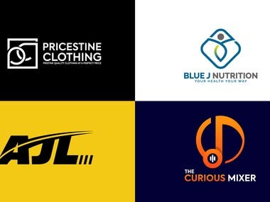 Modern logo design High-quality files source files On-time delivery Unlimited revisions unique design No Mascot/ Cartoons Continued support  final product Stationery (Business card, Letter Head, Envelop) Social Media Kit (Facebook, Instagram, Twitter, Linkedin,  profile pictures and covers )