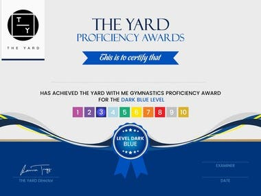 Some Of The Certificate Designed By Us