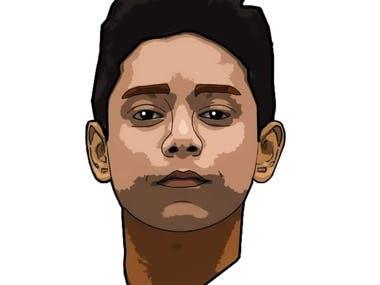 I made this art in Adobe Illustrator.