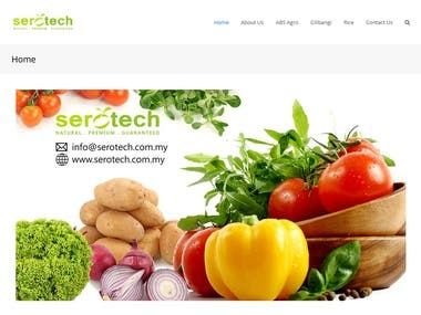 I build this website for agriculture sector, which focus on crop seed production. This setup just a simple website with several pages. It's a company profile website.