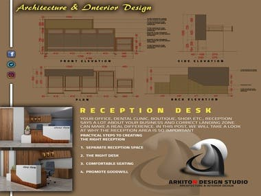 Design in Autocad and Model make in 3ds Max