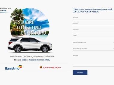Ford Distributor Website