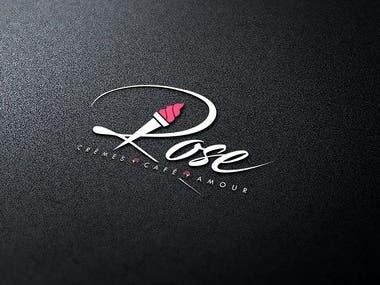 Creative logo design for an café