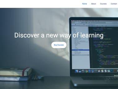This is E-Learning Web App built with advance web technologies and good practices. Tech stack - NodeJS + Express, ReactJS, Firebase, Material UI, Redux, Redux Saga, Aws Lambda, Sripe Payment Integration