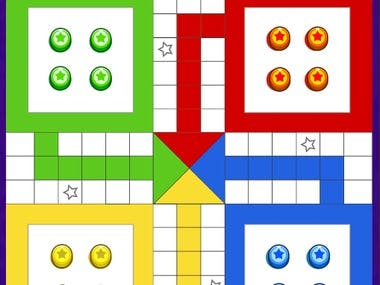 Play fun board game of Ludo with friends and check the wins, stats and coin balance. It is made with Photon multiplayer.