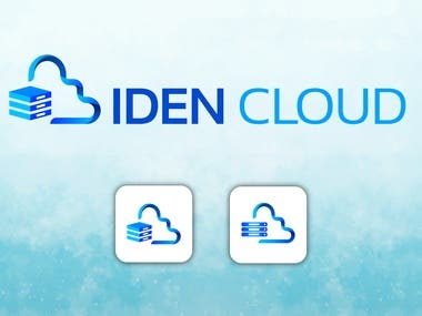 This logo was for a CLOUD Storage website.