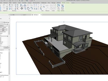 These are 3d modeling by using sketchup and revit