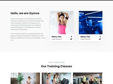 Here is one of my best project. I made this complete website using Html and CSS. This website is completely mobile friendly & it will looks good in every size of device. Also this website has beautiful design & layouts.