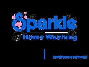 Sparkle Home Washing Biz Card Design