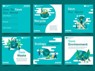 Beautiful Environment poster Design