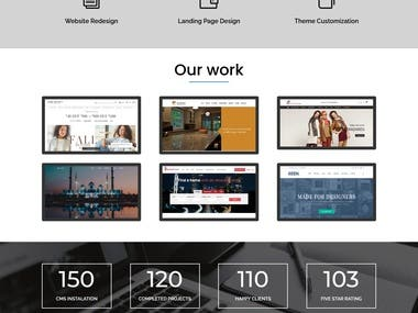 My protfolio website design
