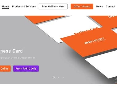 https://www.oneheartprint.com/ Fast, efficient, and reliable service. I'm impressed by how quickly things were done considering the fact that the initial approach was made on a public holiday but everything was done and dusted the following evening. Highly recommended