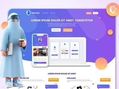 Website and mobile application and PWA version and UI/UX