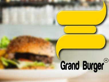 Grand burger logo icon made by me.