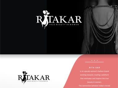 This is logo for RITA KAR