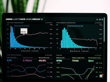 Dashboard design that transforms large data in the form of graphs and graphs that can be controlled and show and renew information on a daily basis and change according to days and facilitate monitoring data to reduce the incidence of error in the data