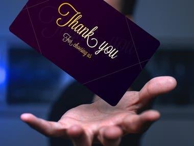 I can create nice business card