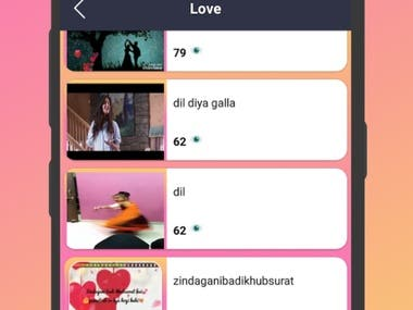 Daily Update Video Status Application for Social media Share There were all category of status video like festival status,Treading Status,Romantic Status Love Status and more all Language status
